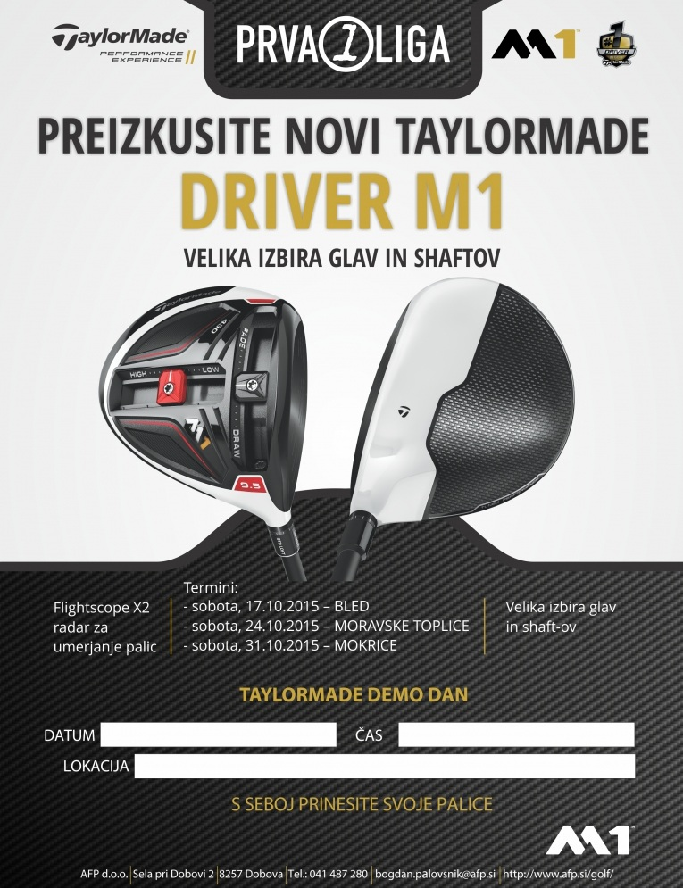 TaylorMade Driver M1