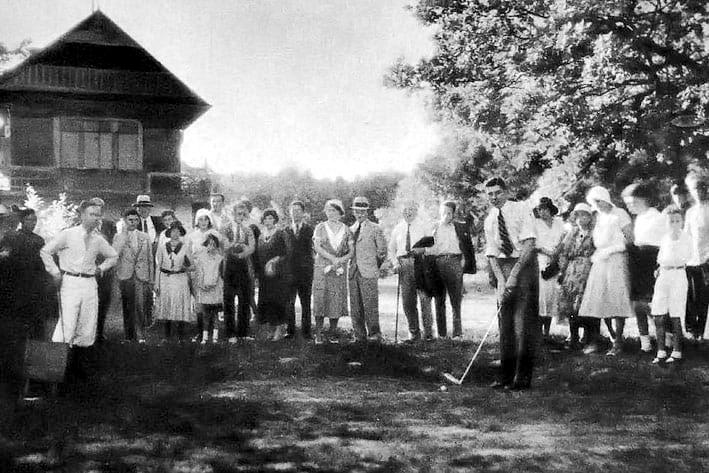 1931. GK Zagreb prvo igralište - PHOTO: Nepoznati Autor